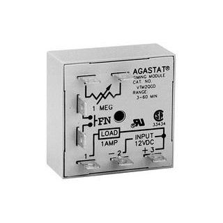 TE CONNECTIVITY / AGASTAT   VTM2ADD   TIME DELAY RELAY SPST NO 60SEC 120VAC/DC: Industrial & Scientific