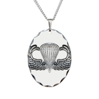 Silver Jump Wings Necklace by psychochic