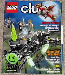 Lego Club Magazine, July   August 2012 Featuring Monster Fighters (Challenge Lord Vampyre for the powerful Moonstonstones), Lego The Lord of the Rings (An exciting new contest you can enter), Plus (Ninjago, Hero Factory, and much more!): Everything Else