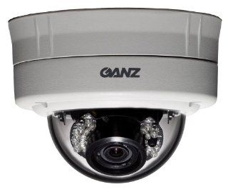 Ganz ZC DT2312NHA IR 0.33 Inch Outdoor Vandal Proof Day/Night IR Dome Camera : Ganz Security System : Camera & Photo