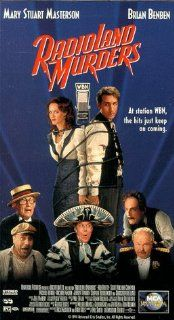 Radioland Murders [VHS]: Brian Benben, Mary Stuart Masterson, Ned Beatty, George Burns, Scott Michael Campbell, Brion James, Michael Lerner, Michael McKean, Jeffrey Tambor, Stephen Tobolowsky, Christopher Lloyd, Larry Miller, Mel Smith, Fred Roos, George L