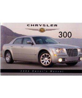 2006 CHRYSLER 300 Owners Manual User Guide