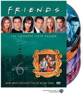 Friends   The Complete First Six Seasons: Jennifer Aniston, Courteney Cox, Lisa Kudrow, Matt LeBlanc, Matthew Perry, David Schwimmer, James Michael Tyler, Elliott Gould, Christina Pickles, Maggie Wheeler, Paul Rudd, Jane Sibbett, Alan Myerson, Andrew Tsao,