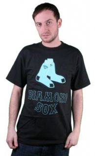 Diamond Supply Co. Sox Tee Shirt in Black Size: M: Clothing