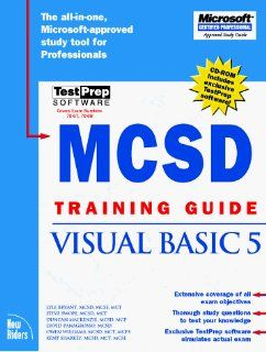 McSd Training Guide: Visual Basic 5 (Training Guides): Steve Swope, Duncan MacKenzie, Dave Panagrosso, Owen Williams, Lyle Bryant: 0752064058502: Books