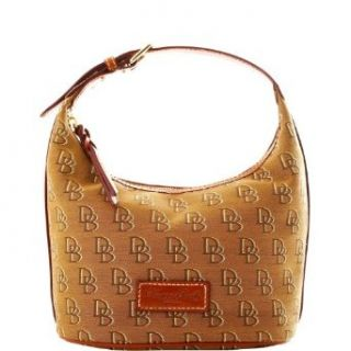 Dooney Bourke Signature Shadow Bucket Bag Purse Tote Tan Clothing