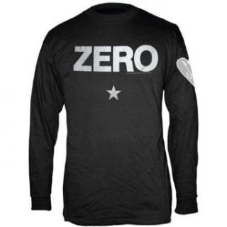 Smashing Pumpkins Classic Zero L/S Officially Licensed Cotton T Shirt Apparel Merchandise: Clothing