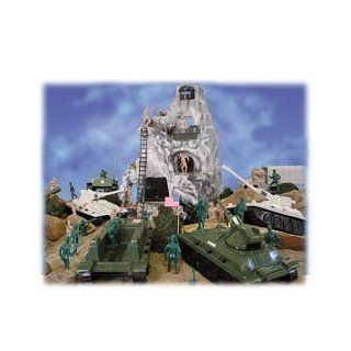 Hill Top Alpha Military Battle Playset: Toys & Games