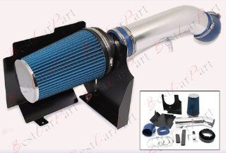00 01 02 03 04 05 06 Cevrolet Suburban 1500/2500 5.3L/6.0L V8 Engine Cold Air Intake + Blue Filter HSICD1B: Home Improvement