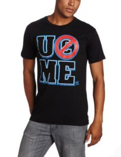 WWE Men's Cena Type Tee, Black, X Large: Clothing