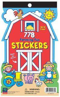 Farming Fun Fun Size Sticker Book Pack, 380 Stickers Per Book (Pack of 12) Toys & Games