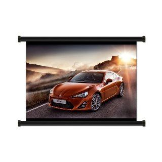 "Toyota 86 Fabric Wall Scroll Poster (32"" X 24"") Inches: Everything Else"