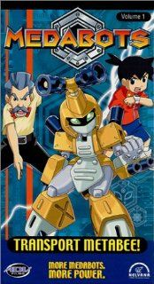 Medabots   Transport Metabee (Vol. 1) [VHS]: Laurent Vernin, Dwayne Hill, Julie Lemieux, Terry McGurrin, Shannon Perreault, Robert Tinkler, Ashley Taylor, Joanne Vannicola, Martin Villafana, Paul Haddad, Mark Dailey, Jeff Berg, Clive A. Smith, Jaelyn Galbr