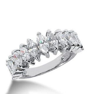 Diamond Wedding Ring 6 Marquise Cut 0.00 ct 4 Marquise Cut 0.00 ct 2 Marquise Cut 0.00 ct 1 Marquise Cut 0.00 ct Total 2.57 ctw. 593 WR2346: Wedding Bands Wholesale: Jewelry
