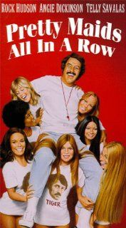 Pretty Maids All in a Row [VHS]: Rock Hudson, Angie Dickinson, Telly Savalas, John David Carson, Roddy McDowall, Keenan Wynn, James Doohan, William Campbell, Susan Tolsky, Barbara Leigh, Gretchen Parsons Carpenter, Aim�e Eccles, Charles Rosher Jr., Roger V