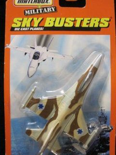 F16 A Falcon Fighter (khaki/gray 106 tampo) Matchbox Sky Busters Series: Everything Else