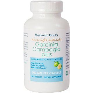 Garcinia Cambogia Plus Potassium and Calcium  Pure Extract   60% HCA   30 Day Supply   Build Lean Muscle, Decrease Belly Fat, Supports Appetite Control & Inhibits Fat Production, 100% Natural Weight Loss*   100% Customer Satisfaction Guaranteed: Health