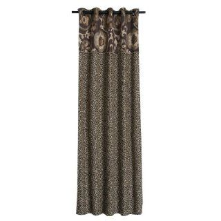 Jennifer Taylor Espresso Collection Curtain Panel, 100 Inch by 108 Inch