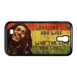 Bob Marley Quotes Samsung Galaxy S4 9500 Best Durable Case + Free Wristband Accessory: Electronics