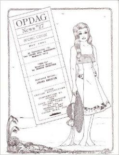 OPDAG NEWS magazine #27, May 1991 [Original Paper Doll Artist's Guild] Judy Johnson Books