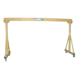 "Contrx Cranes GC1 8 Fixed Height Portable Gantry Crane, 1 Ton Capacity, 113"" Length x 60"" Width x 125"" Height: Industrial & Scientific"