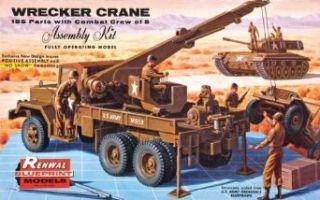 Revell Military Wrecker Truck Plastic Model Kit, Scale 1/32 Toys & Games