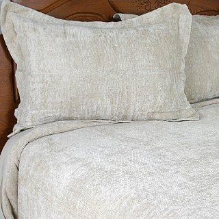 Suite 109 Chenille Duvet Cover, Bed Skirt, and Shams Set