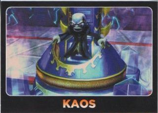 Skylanders Giants No. 109 KAOS   Supporting Characters and Hats Individual Trading Card: Toys & Games