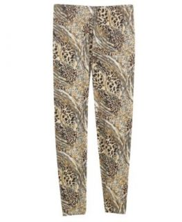 Plus Size After Animal Print Leggings   Size: 1x/2X Color: Brown at  Women�s Clothing store