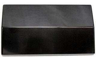 Billet Custom (GMBC 121 PL BLK) Plain Black Fuse Box Cover for Chevrolet Camaro Automotive