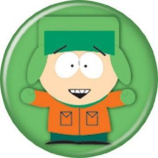 South Park Kyle Green Button BT116 Clothing