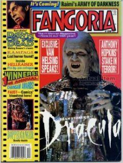 FANGORIA MAGAZINE #119 (Dec 1991)(BRAM STOKER'S DRACULA COVER)(#1 Horror Magazine) Starlog Communications Books