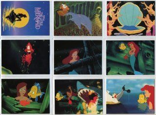 1991 Pro Set Disney Little Mermaid 127 Card New Complete Set in Collector Pages