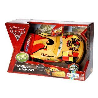 Disney / Pixar CARS 2 Movie Exclusive Lights Sounds 124 Scale Vehicle Miguel Camino: Toys & Games