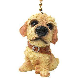 Poodle Dog Ceiling Fan Pull Pulls Set of 2