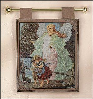 Guardian Angel   Padre Pio   St Michael Archangel Wall Tapestry, 127 A Guardian Angel: Kitchen & Dining