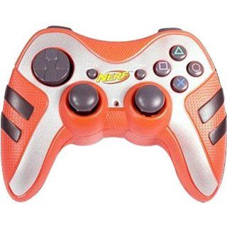 Playstation 2 Orange Nerf Controller: Video Games
