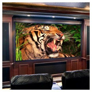 "Clarion CinemaScope Projection Screen Size: 132"", Surface Finish: High Performance   Home Theater Projection Screens"