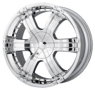"Ion Alloy 199 Chrome Wheel (20x9""/6x139.7mm): Automotive"