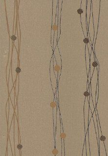 Brewster 141 65500 Graffiti Wallpaper, Gold: Home Improvement