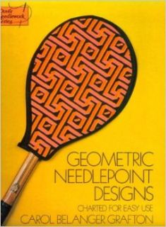 Geometric Needlepoint Designs: Charted for Easy Use (Dover Needlework): Carol Belanger Grafton: 9780486231600: Books