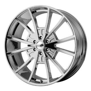 22x9 American Racing El Rey (Chrome) Wheels/Rims 6x139.7 (VN80322961235): Automotive