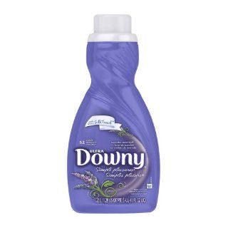 Downy Ultra Simple Pleasures Lavender Serenity Liquid Fabric Softener 52 Loads 41 Fl Oz (Pack of 6) Health & Personal Care