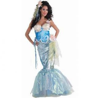 Womens Sexy Mermaid Halloween Sea Costume M/L 8 12: Clothing