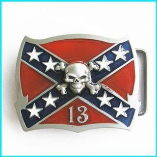Cool Western REBEL CONFEDERATE FLAG Belt Buckle T 151: Everything Else
