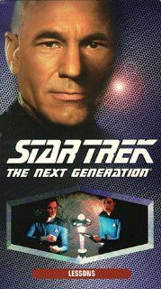 Star Trek   The Next Generation, Episode 145: Lessons [VHS]: LeVar Burton, Gates McFadden, Gabrielle Beaumont, Robert Becker, Cliff Bole, Timothy Bond, David Carson, Chip Chalmers, Richard Compton, Robert Iscove, Winrich Kolbe, Peter Lauritson, Robert Lega