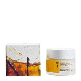 Korres Theme Honey 24hour Cream 1.35oz, Prime Rose Mask Sachet + Thyme Honey Hand Cream .34oz Set: Beauty