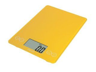 Escali 157SY Arti Digital Scale, 15 Pound, Solar Yellow: Kitchen & Dining
