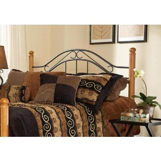 Hillsdale Furniture 164HFQ Winsloh Headboard, Full/Queen, Black: Home & Kitchen