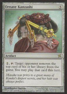 Ornate Kanzashi (Magic the Gathering : Betrayers of Kamigawa #157 Rare): Toys & Games